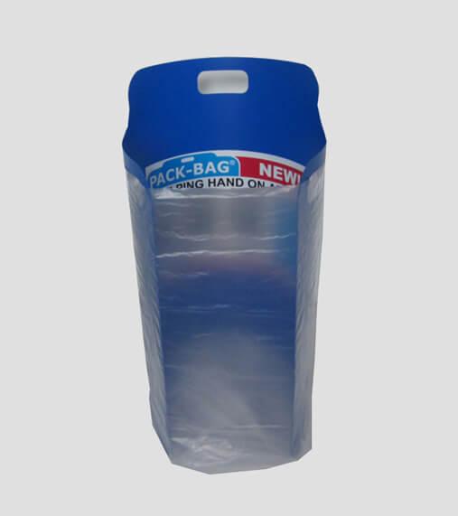 Pack bag large blauw