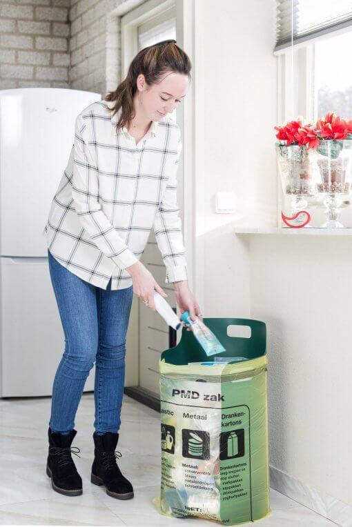 Pack-Bag plastic afval scheiden