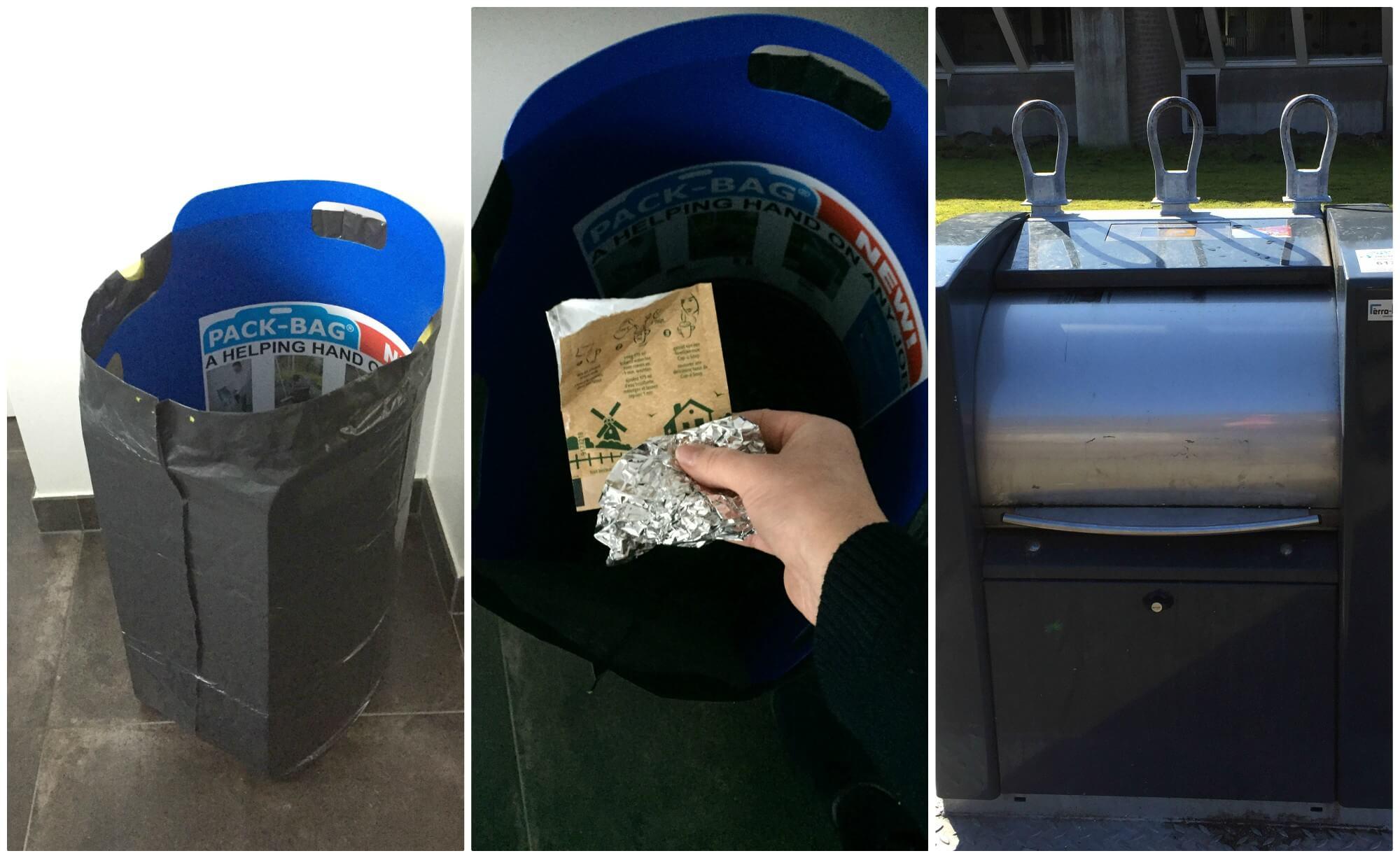 Slim afval scheiden